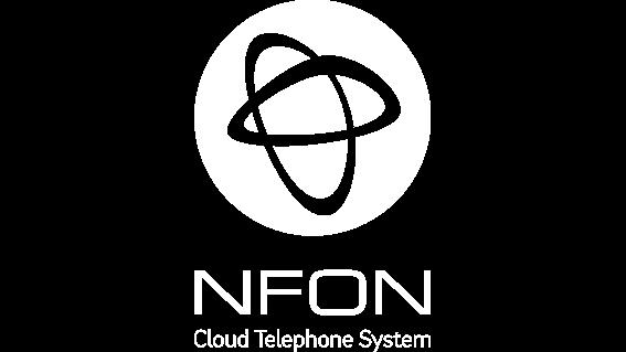 nfon logo inverted